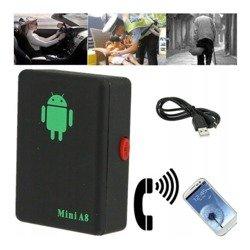 Lokalizator GSM Mini A8 - Podsłuch - Szpieg - Call-Back