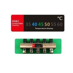 Termometr paskowy - Naklejka z pomiarem temperatury ogrzewania podłogowego