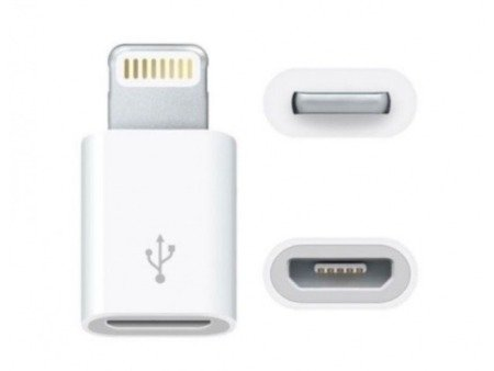 Adapter - Przejściówka - MicroUSB - Lighting - Do IPHONE 5/6/6+/7
