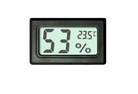 Higrometr i Termometr LCD FY-11 w obudowie - wilgotnościomierz cyfrowy