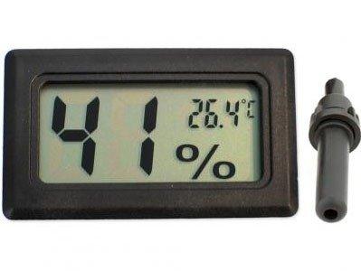 Higrometr i Termometr LCD z sondą w obudowie