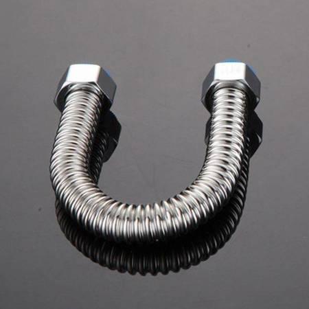 Wąż do wody ze stali nierdzewnej 201 - 50cm - 1/2 Cala - rura karbowana